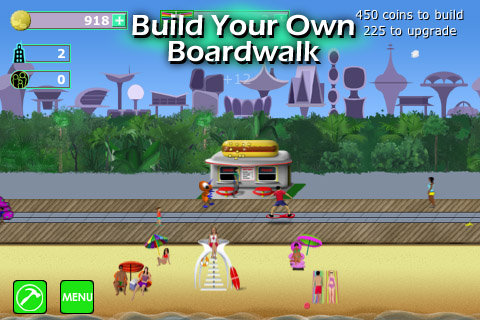 Boomtown Boardwalk screenshot app game